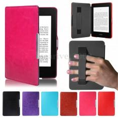Husa Kindle Paperwhite cu maner + 6000 carti, TRANSPORT GRATUIT