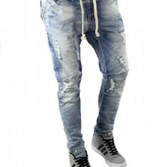 Blug tip ZARA MAN - blugi barbati - slimfit blugi conici - cod 6060