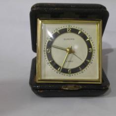 Ceas de mana - Ceas vechi de calatorie/ birou EUROPA, conditie foarte buna !