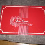 Set lenjerie pat + fete perna italiana si broderie elvetiana manuala - REDUS ! - Lenjerie de pat