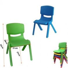 Scaun rezistent pentru copii diverse culori - Masuta/scaun copii