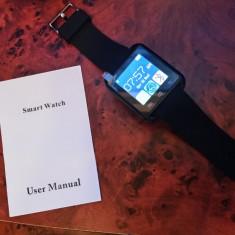 Ceas Smart watch, nou, negru, impecabil