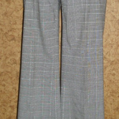 Pantaloni dama Esprit, Lungi, Gri, Marime: 38 - Pantaloni de dama, edc by Esprit, model clasic, stofa subtire, marime 38