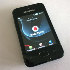 Vand Samsung Star 3 S5229 - stare buna - blocat Vodafone Romania - Telefon mobil Samsung Star S5230, Negru