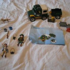 Playmobil City 4206 - Masina padurarului - Masinuta de jucarie Playmobil, Plastic