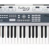 Orga pentru incepatori Funkey 54-MIC Keyboard