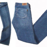 Blugi dama - drepti - talie joasa FARMS BYANCA W 28, 31 (Art. 365, 366), Albastru