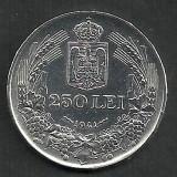 Monede Romania, An: 1941, Argint - ROMANIA MIHAI I 250 LEI 1941, NSD ARGINT [2] LUCIU, XF++