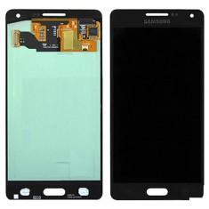 Display LCD - Ansamblu LCD Display Laptop Touchscreen touch screen Samsung Galaxy A5 A500F Black Negru ORIGINAL