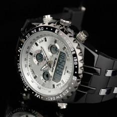 Ceas Infantry, ceas militar, ceas alb, sport, ceas digital, nou - Ceas barbatesc