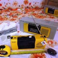 SHARP radio casetofon inregistrare NOU in cutie, 0-40 W