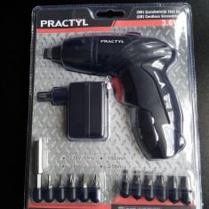 Surubelnita Cu Acumulator Noua Sigilata 2 Ani Garantie 3, 6 V Include 11 Biti - Surubelnita electrica