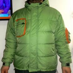 Imbracaminte outdoor, Geci - Geaca pene puf 50% VOLKL SUBDEVISION M-barbati L-dama pufoaica transport inclus