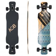 """Longboard Area One Boards Asym Flower 39""""/98cm - Skateboard"""