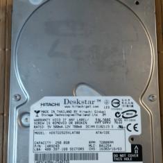 HDD PC Hitachi 250 GB IDE - Hard Disk Hitachi, 200-499 GB, Rotatii: 7200