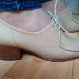 Pantofi din piele firma SIOUX marimea 38, 5! Sunt noi - Pantofi dama Gap, Piele naturala