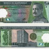GUATEMALA 1 quetzal 2012 polymer UNC!!!, America Centrala si de Sud