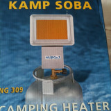 Arzator gaz  camping infrarosu , nou