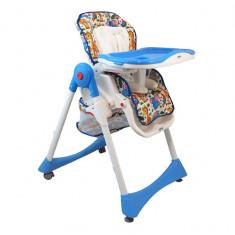 Masuta/scaun copii - Scaun de masa pentru copii Baby Mix YB 602 2468 Blue