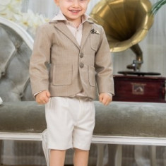 "Trusou botez - Costum botez ""Nick"" (Imbracaminte pentru varsta: 5 ani - 110 cm)"