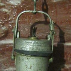 Metal/Fonta - Lampa carbid, carbit