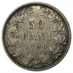 50 Bani 1900 UNC - Piesa de colectie! - Moneda Romania