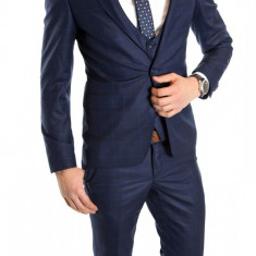 Costum tip ZARA - sacou + pantaloni - vesta costum barbati casual office - 6153