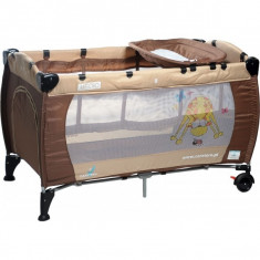 Patut pliant bebelusi - Patut pliant Medio 120 x 60 cm Brown Caretero