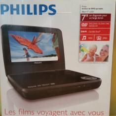 DVD Player portabil Philips PD7001B/12, 7 inch