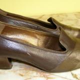 Pantofi dama marca Salamander exterior piele marimea 4 1/2 ( echivalent 37.5 european ) (P388_1)