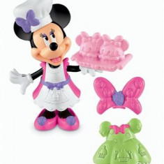 Jucarie Fisher Price Minnie Mouse Cupcake Bowtique - Figurina Desene animate Disney