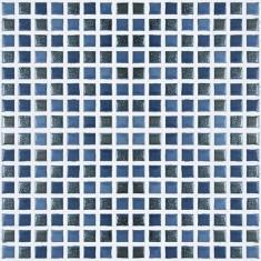 FAIANTA ARGENTA CHESS BLUE 30x20