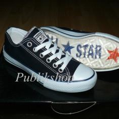 Tenesi Converse All Star navy (talpa silicon) - Tenisi barbati Converse, Marime: 36, 37, 38, 39, 41, 42, 43, 44, 45, Culoare: Din imagine, Textil