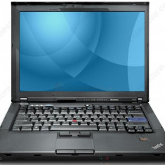LAPTOP LENOVO THINKPA T400 Core2Duo P8400 2.26Ghz/2GB/160GB+ALIMENTATOR/GARANTIE, Thinkpad, Intel Core 2 Duo, 2001-2500 Mhz, Sub 15 inch