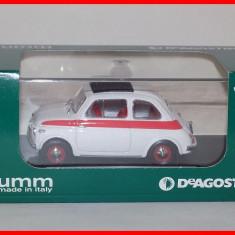 Macheta auto, 1:43 - 1959 - FIAT 500 SPORT (scara 1/43) BRUMM - DeAgostini IT