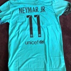 Tricou echipa fotbal, De club, Barcelona, Maneca scurta - TRICOU NEYMAR JR. F.C.BARCELONA MARIME M