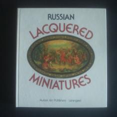 VLADIMIR GULIAYEV - RUSSIAN LACQUERED MINIATURES * ALBUM {dimensiune 21 x 23 cm} - Album Arta, Rao