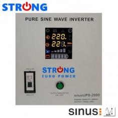 UPS 2000VA 1400W STRONG-2000E pentru centrale termice
