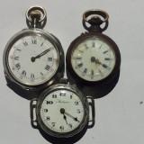 Ceas de buzunar - CEASURI DE BUZUNAR DE DAMA -3 BUCATI -PENTRU PIESE DE SCIMB