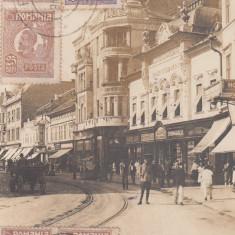 ARAD, STR. GENERAL BERTHELOT, TCV, CIRCULATA - Carte Postala Crisana dupa 1918, Fotografie