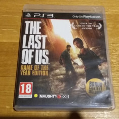 PS3 The last of us Game of the year edition - joc original by WADDER - Jocuri PS3 Sony, Actiune, 18+, Single player