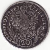Arhiducatul Austriei - 20 Kreuzer 1773 - E - Alba Iulia - Argint, Europa