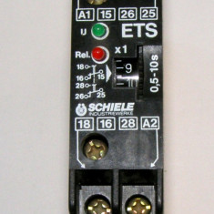 Releu de timp On Delay Schiele ETS 0.5-10s alimentare 110-240Vac(045)