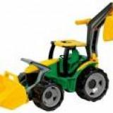 Tractor cu excavator si cupa Gigant Lena 102cm - Masinuta de jucarie