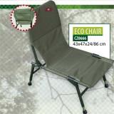 Scaun Carp Zoom Eco picioare ajustabile 47x40x23/71cm CZ0666