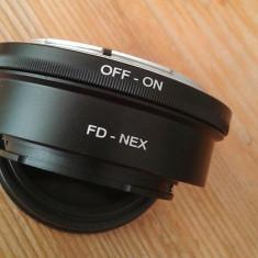 Adaptor obiectiv Canon FD Sony NEX - Inel adaptor obiectiv foto