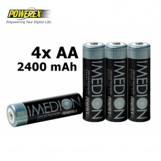 4x AA R6 Imedion 2400mAh Baterii Reincarcabile NK054 - Baterie Aparat foto