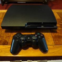 Ps3 Slim modat +jocuri - PlayStation 3 Sony
