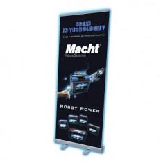 Suport Roll-Up Printare Macht 33517 - Tabla de conferinta