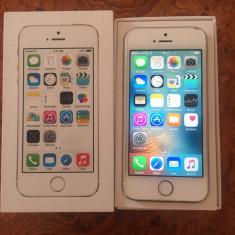 iPhone 5S Apple 16GB GOLD AURIU FULL BOX NEVERLOCK GARANTIE ORANGE|VANZATOR GOLD+CADOU, Neblocat